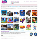 Bouncy Castles Web Site