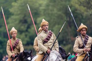 Wrest at War Indian Horseback Riders