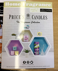Prices Candles Catalogue