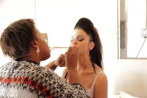 studio make up artist