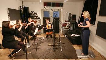 String Quartet at Metech