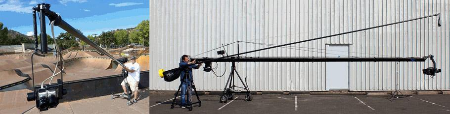 Jimmy Jib and Polecam + 3D filming